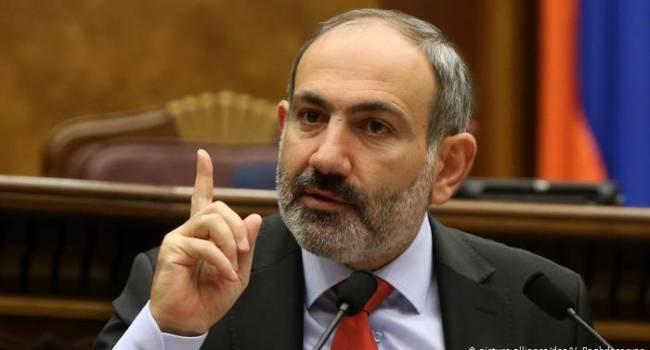 Пашинян заговорил о наступлении армии Карабаха на позиции Азербайджана