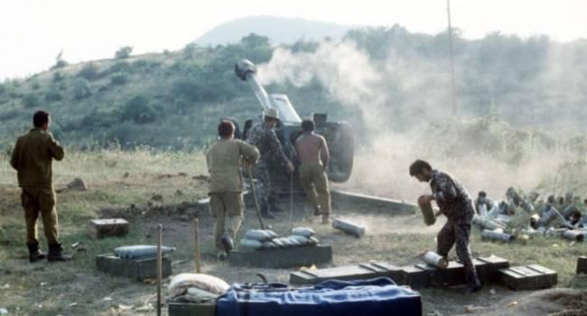 Омелян: ситуация в Нагорном Карабахе показывает – боеспособная армия, сильный лидер, мощный союзник – и Кремль моментально умывает руки