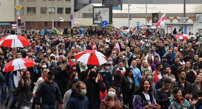 Протесты в Беларуси: Несмотря на рост количества задержанных, люди не сдаются
