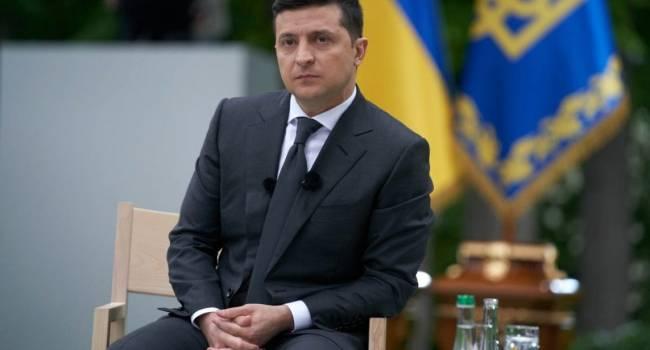 Зеленскому предлагают включить во всеукраинский опрос вопрос о его досрочной отставке с должности президента