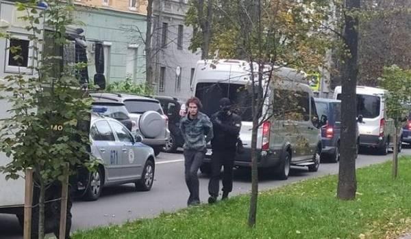 На акции протеста студентов в Минске силовики задержали 10 человек
