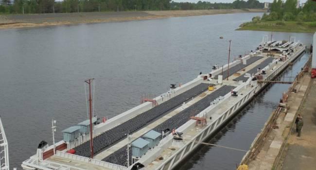 В Херсонской области для кораблей ВМС ВСУ будет возведен плавучий причал