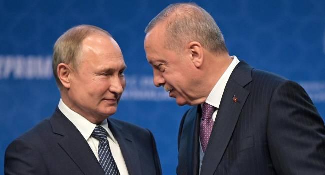 Эксперт: Кремль уже не в состоянии контролировать ситуацию, а Эрдоган продолжает давить кремлевскую амебу