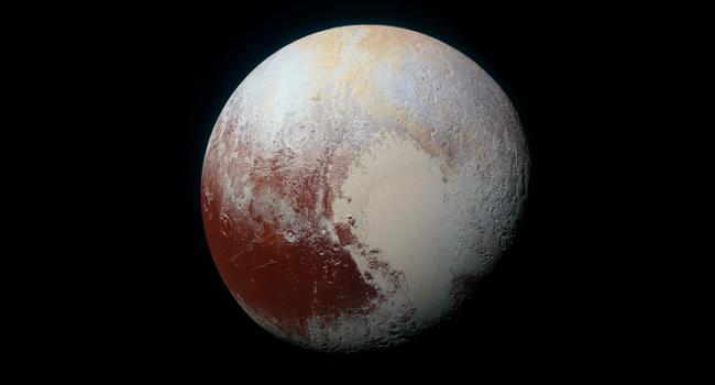 На Плутоне обнаружили снег: это удивительно