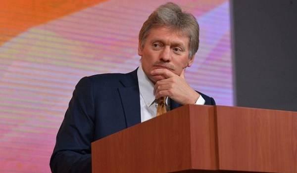 «Рейдерская конкуренция»: Песков жестко прокомментировал новые санкции США против «Северного потока – 2»