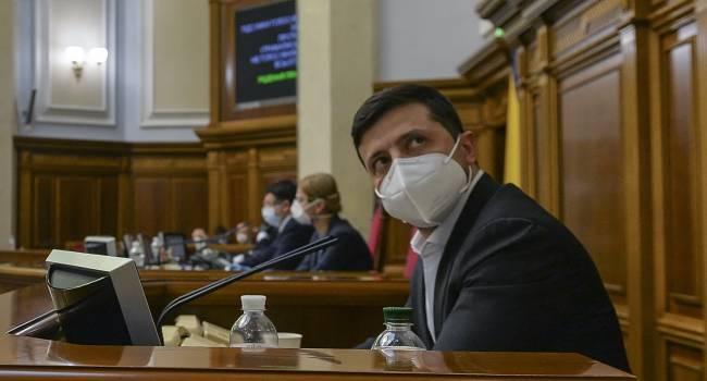 Телеведущий: полиция и спецслужбы должны прекратить антизаконные действия Зеленского и «Слуги народа»