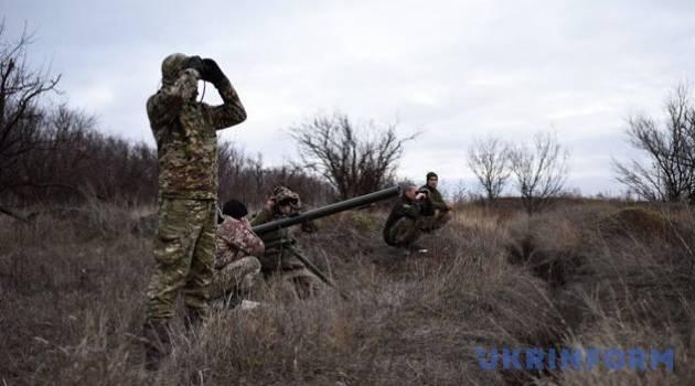Силы ООС приняли на себя очередной удар на Донбассе