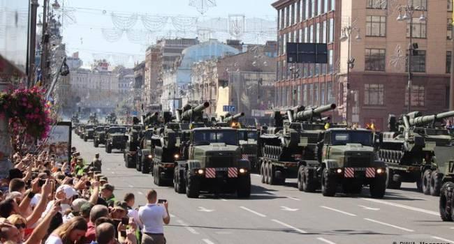 «30 лет независимости Украины»: Зеленский проведет военный парад