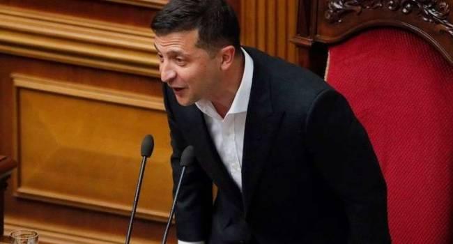 Политолог: Зеленский стал чемпионом Украины по скоростному ретированию из парламента
