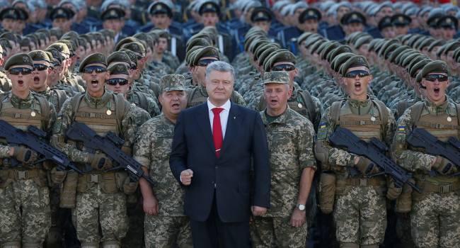 Аналитик: Зеленский прислушался к совету Порошенко провести военный парад на День Независимости