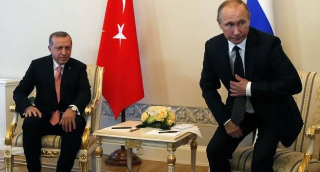 Эксперт: Путин получил очередной «нож в спину» от Эрдогана, а Россия теперь будет выглядеть как ненадежный союзник, причем, не только для Армении