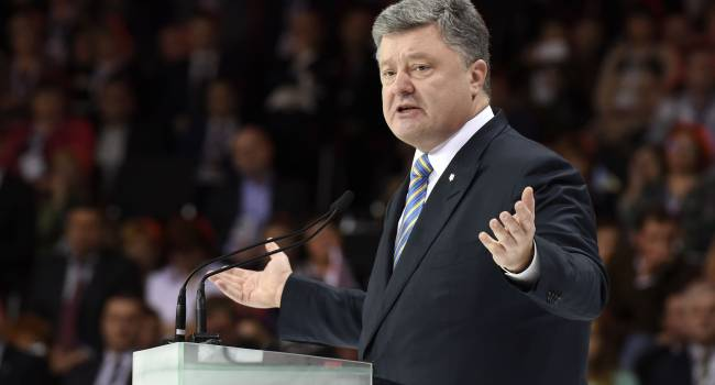 «Там, где Россия - жди беды»: Порошенко заявил, что российским властям обязательно нужно участие РФ в войне
