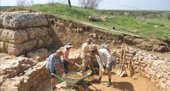 На территории Крыма найден уникальный древний склеп