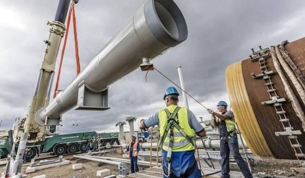 В «Газпроме» рассказали о факторах, влияющих на завершение строительства «Северного потока – 2»