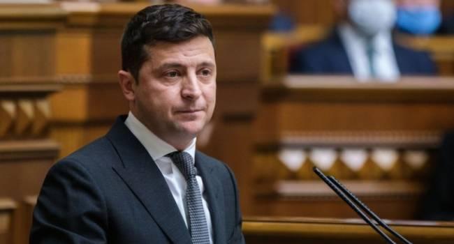 Бала: выступление Зеленского в парламенте продемонстрировало, что он так и остался в избирательной кампании 2019 года