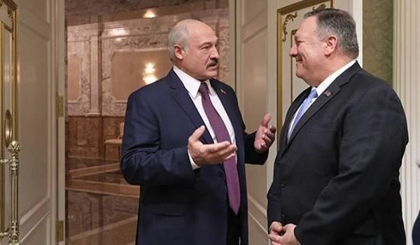 Лукашенко поговорил с главой Госдепа США Помпео, назвав Россию основным союзником Беларуси