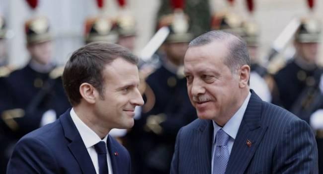 Франция сразу отозвала посла: Эрдоган посоветовал Макрону проверить свою психику и назвал Карабах «азербайджанским»