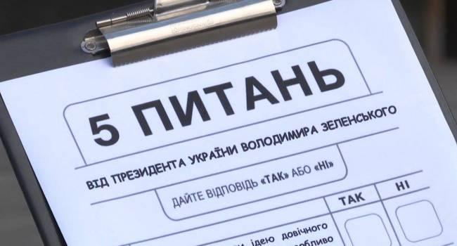 Политолог: интервьюеры Зеленского несут такую же ответственность за опрос, как и его организатор