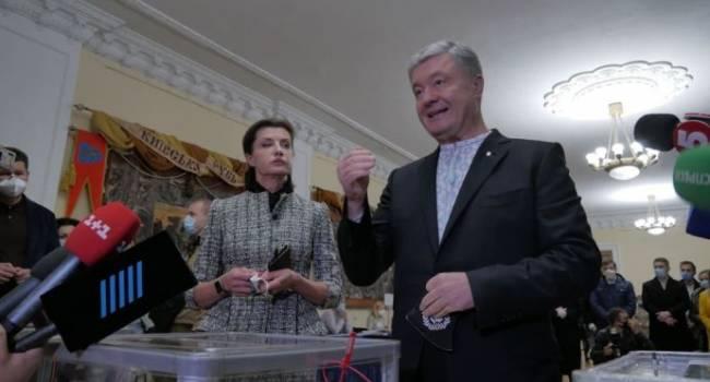 Порошенко: к сожалению, своими усилиями Зеленский возвращает технологию Януковича «підрахуй»
