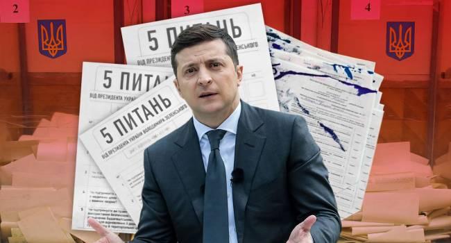 Наблюдатели ОБСЕ признали, что опрос, инициированный Зеленским, создал неправомерное политическое преимущество для представителей партии власти