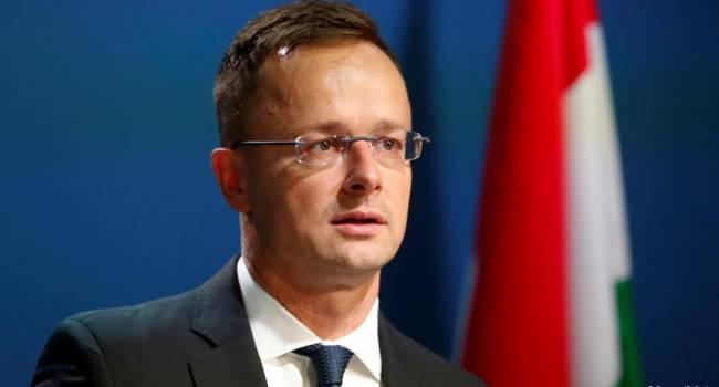 «Запрет на въезд для венгерских чиновников»: Сийярто шокирован решением МИД Украины