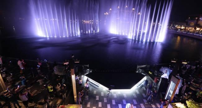 В Дубае торжественно открыли самый большой фонтан в мире