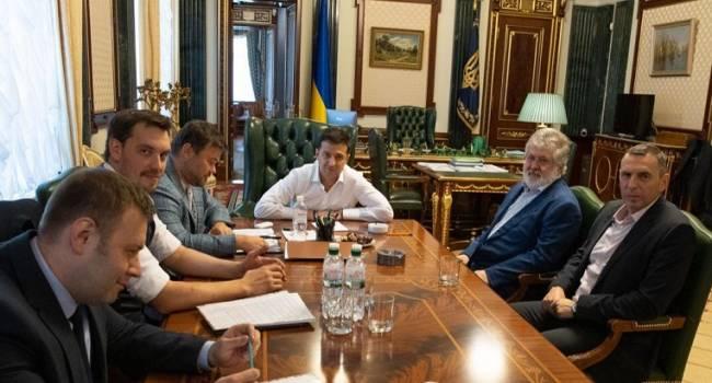 Ветеран АТО: весь этот трэш начался со знаменитой фотографии Коломойского в кабинете президента