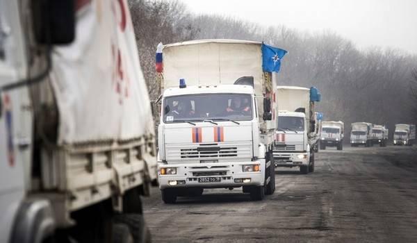 «Очередной гумконвой Путина»: Украина направила России ноту