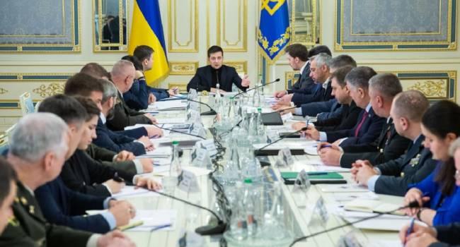 Что было решено во время экстренного заседания СНБО?