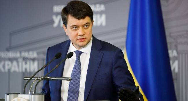 Разумков рассчитывает на активное содействие Германии в деоккупации Крыма
