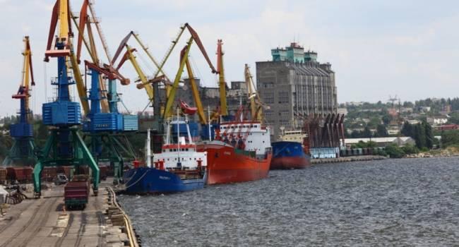 Рекордное снижение: грузооборот морского порта Николаева уменьшился почти на 10%