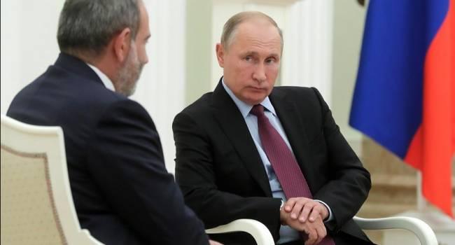«Кремль просят вступить в войну»: Пашинян официально запросил военную помощь у Путиина