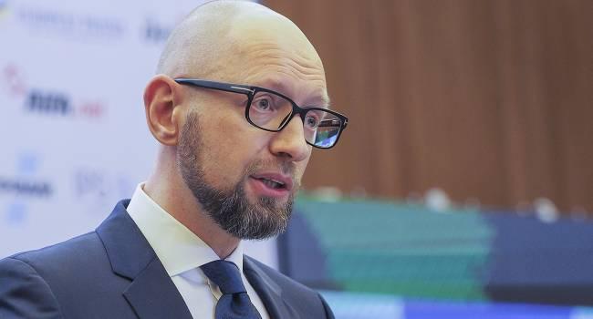 Законопроект Зеленского о роспуске КСУ напоминает то, как президенту советовали провести всеукраинский опрос - Яценюк