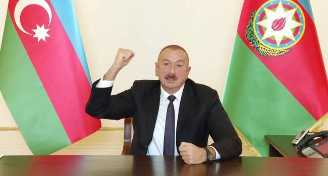 Алиев отреагировал на призыв Еревана к России вмешаться в войну в НКР