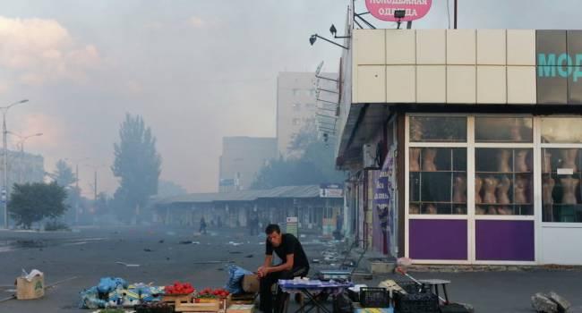 Жители Донецка рассказали о «деградации» города