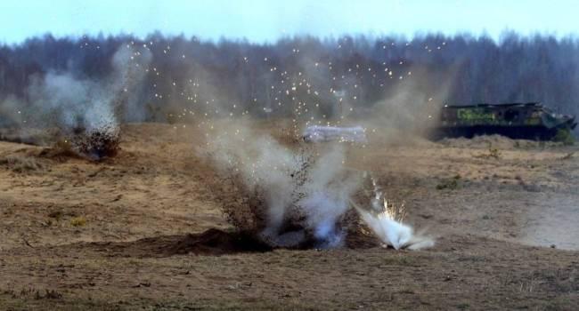 «Войска РФ несут потери»: На Донбассе на взрывном устройстве подорвался боевик