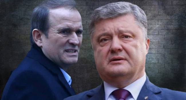 Кочетков: Порошенко и Медведчук открыто празднуют реванш. И не смотрите на и риторику - как только дойдет до дележа страны, эти люди быстро найдут общий язык