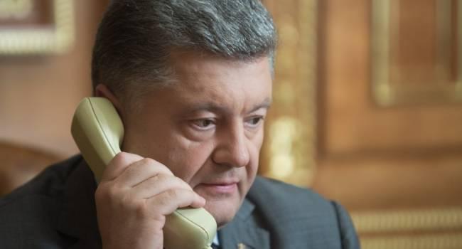 Порошенко лично обзванивает руководителей Евросоюза, убеждая их сохранить безвиз для Украины