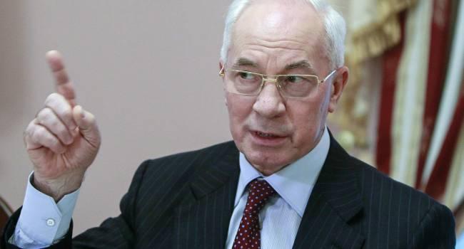 Азаров огорчен результатами выборов в Украине: «ОПЗЖ» взяла мало, победила снова «партия войны»