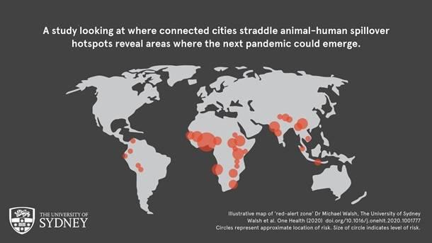Ученые назвали регионы мира, где в любой момент может вспыхнуть новая эпидемия