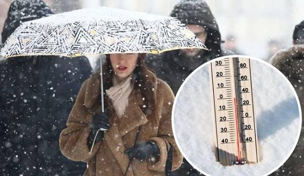 Снег, дождь и температурные контрасты: украинцев предупредили о непогоде