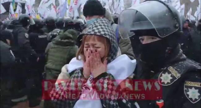 «Очень агрессивно настроены»: Предприниматели Украины пошли на силовой прорыв у стен Рады