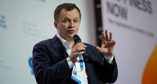 Милованов констатировал очевидную истину для всех, кроме Зеленского, что в этом году ни одного транша МВФ Украина не получит