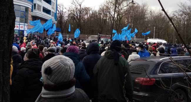 Ветеран АТО: Кива со своим шапито сегодня выступал против внешнего управления по посольством США