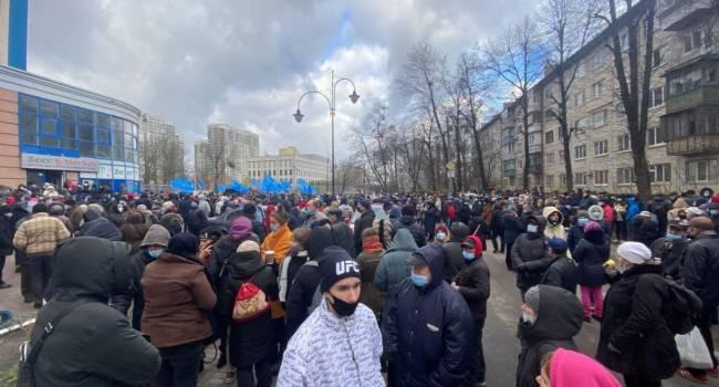 Береза: интересно, собравшиеся сегодня под посольством США, кричали «США вон из Крыма и с Донбасса»?