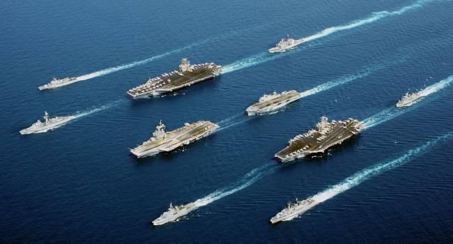 «На таран, так на таран»: В Японском море между кораблями США и РФ может начаться бой
