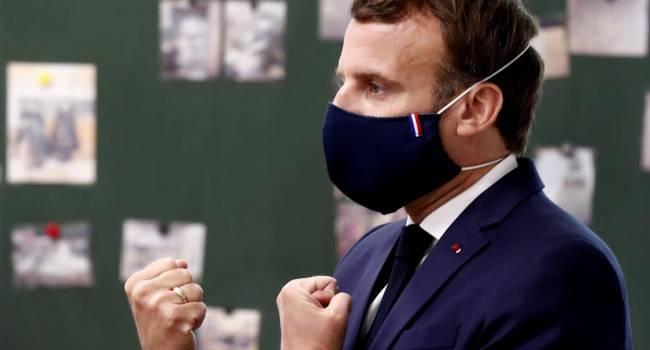 «Пик второй волны пройден»: Макрон заявил об улучшении ситуации с коронавирусом во Франции