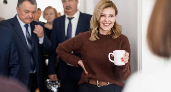 «Принцессы не только в сказке бывают, Елена настоящая принцесса»: первая леди Украины восхитила сеть своим появлением на людях
