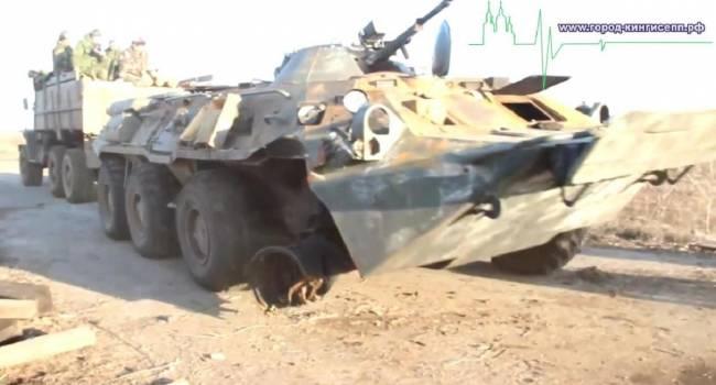 ВСУ провели успешную спецоперацию: На Донбассе был уничтожен вражеский БТР-80