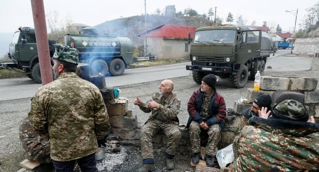 В Армении начали гибнуть российские военные из состава миротворческой миссии